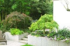 Gartenbereich mit chinesischem Granit